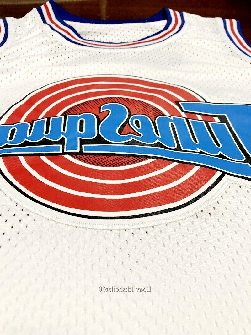 Space #1 Bunny Basketball Jersey Stitched White