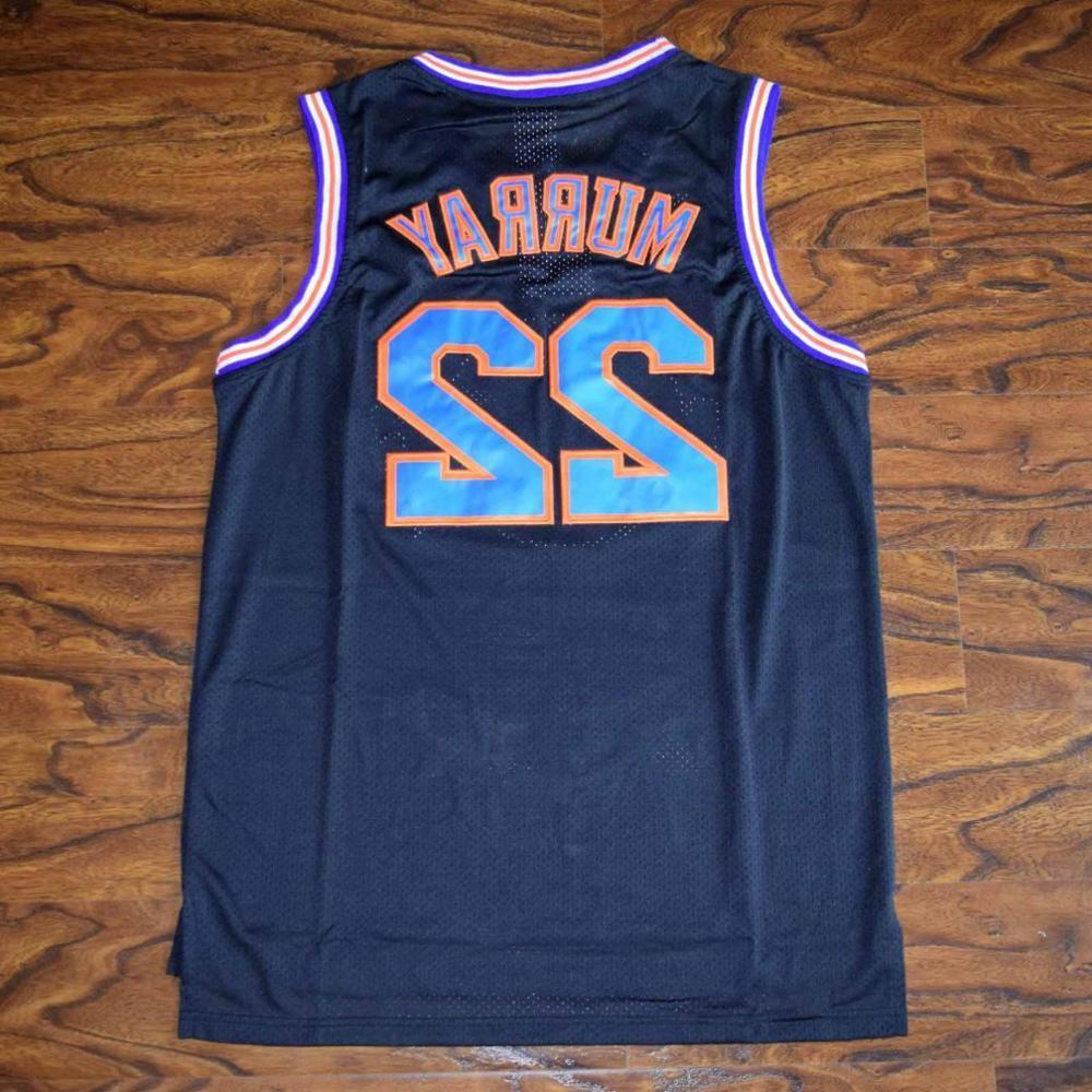 Space Jam Tune Squad Basketball Jersey Black Stitched