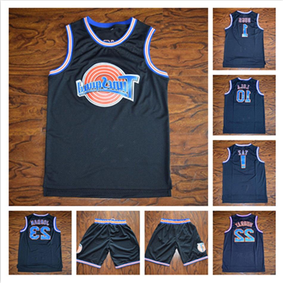 space jam tune squad basketball jersey black