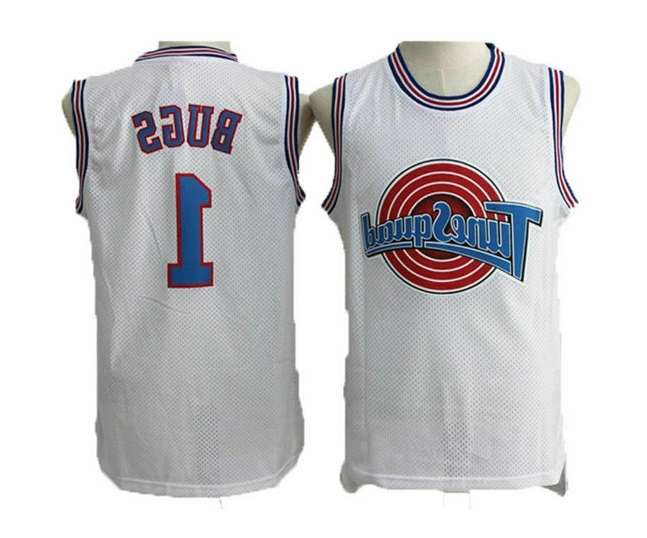 c49ca980d47 Space Jam Tune-Squad Basketball Jersey Lola #10 Bugs