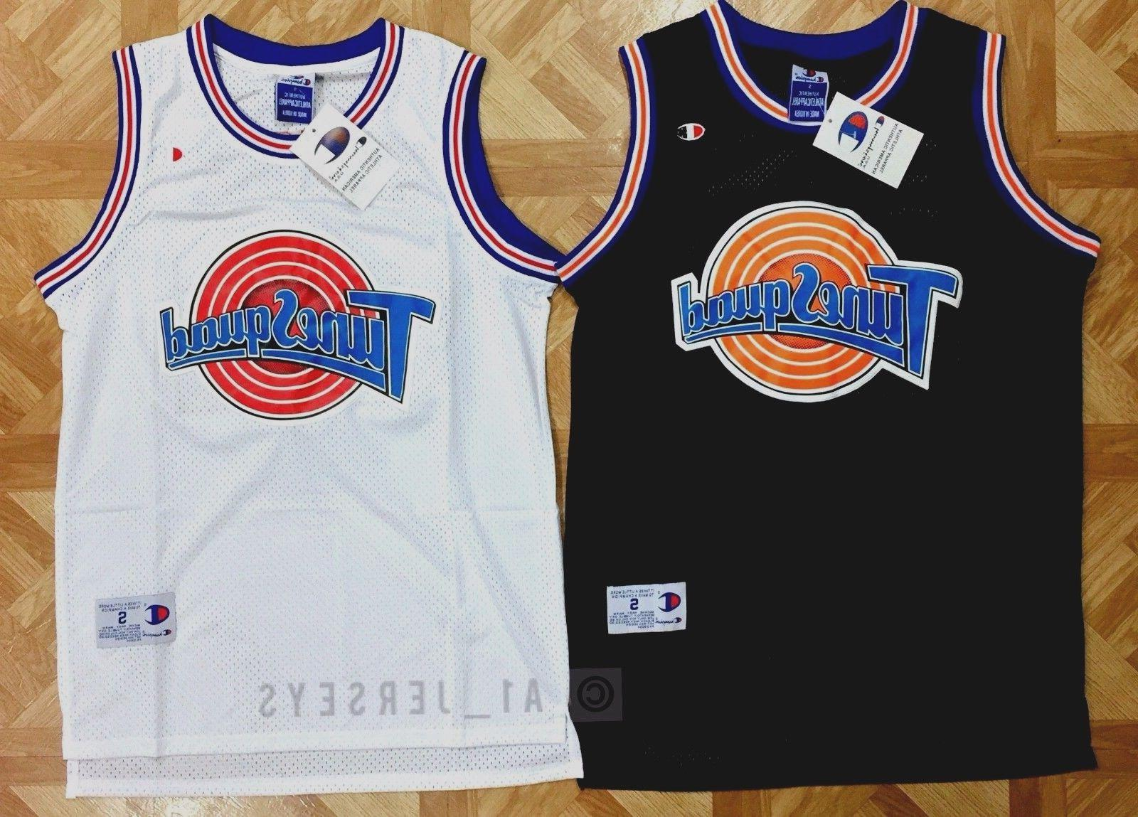 ad4be51893bd Space Jam Tune Squad Basketball Jersey M..