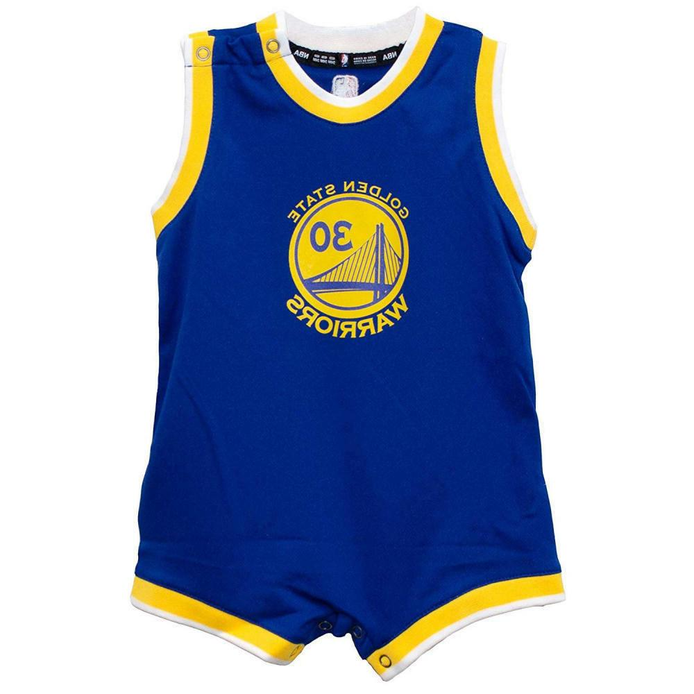 Stephen Curry Warriors Basketball Romper FREE