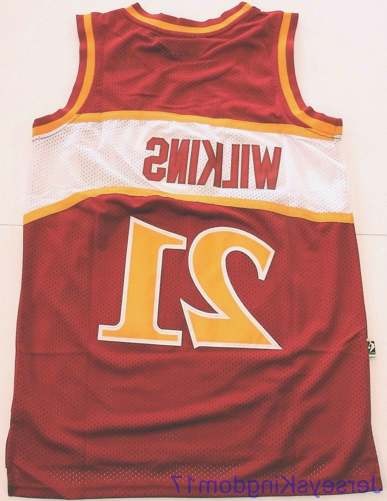 Swingman Jersey WILKINS 21 Red