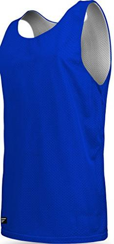 Youth Boys and Girls Tank Top Jersey-Each Uniform is Reversi