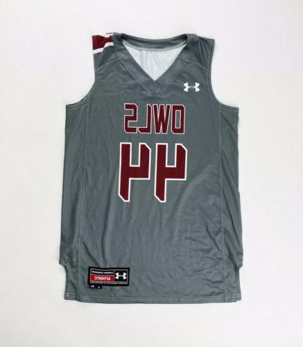 temple owls armourfuse basketball jersey 44 women