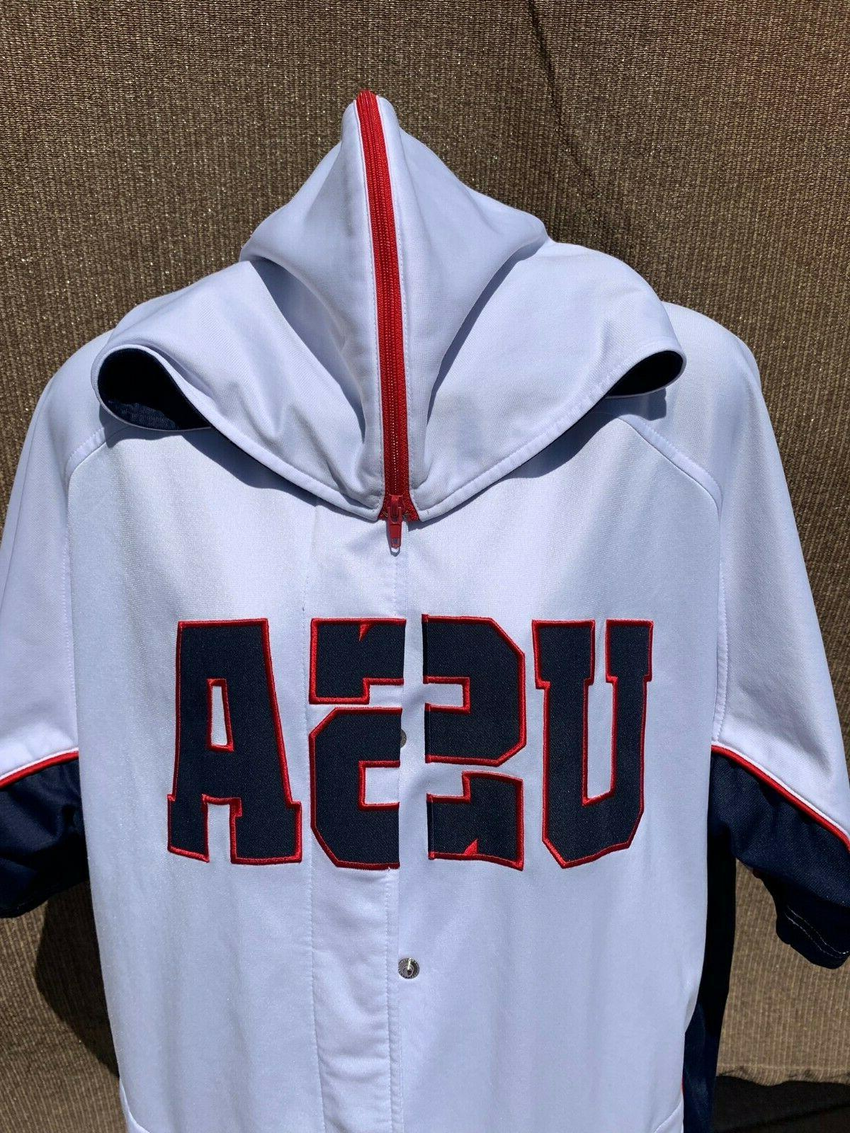 USA Sample Hooded Jersey