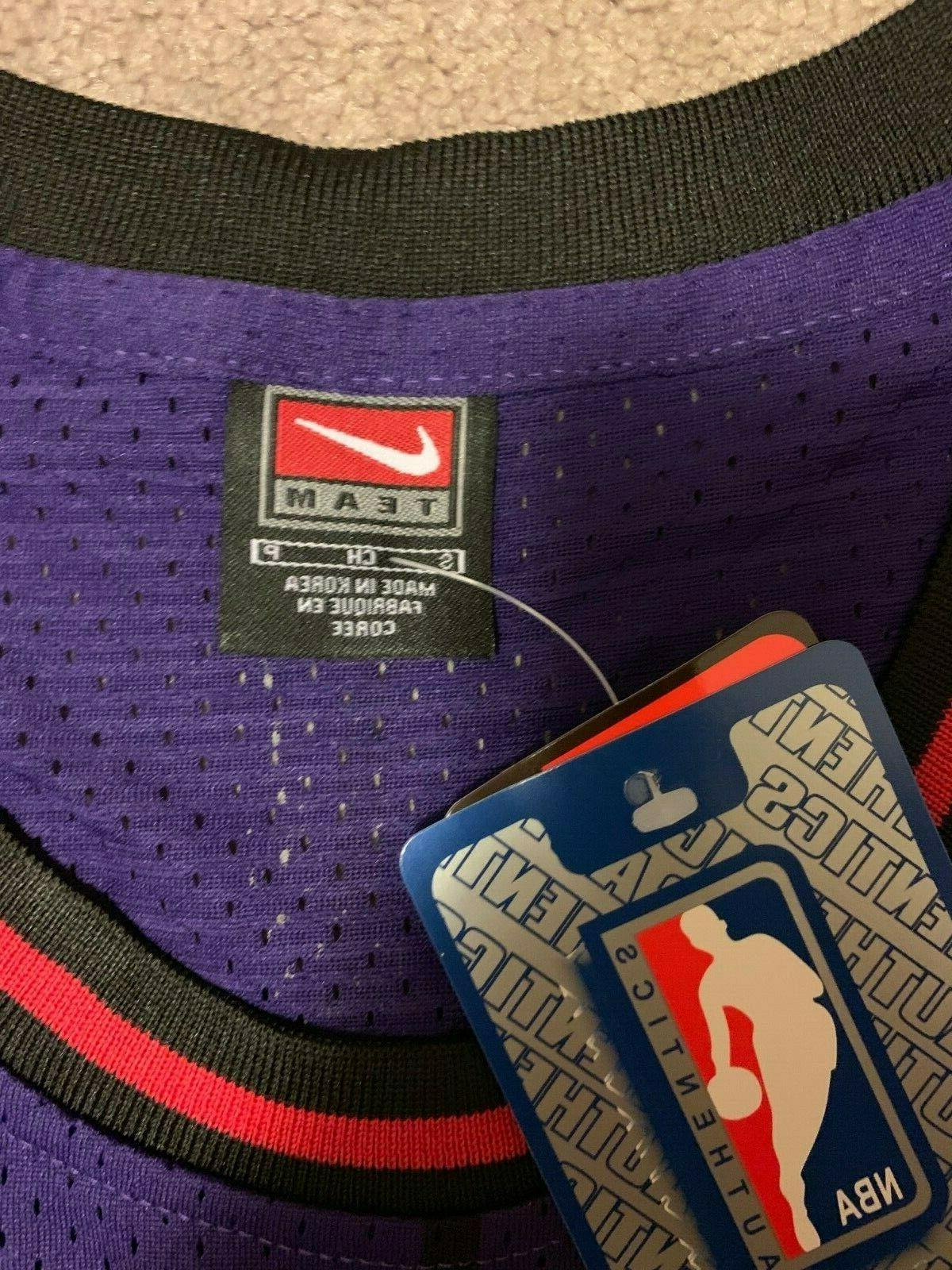 Vince Carter Purple Toronto Jersey Stitched