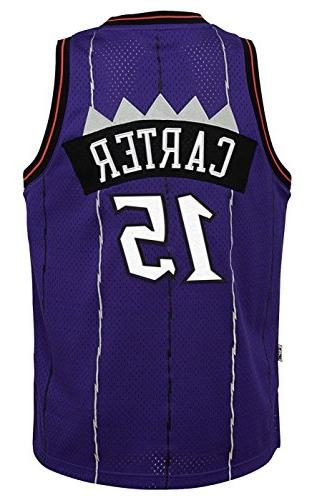 Outerstuff Vince Carter Raptors Youth 1998-99 Swingman