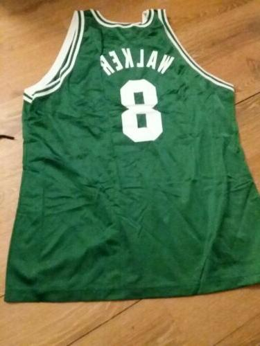 vintage 90s CELTICS ANTOINE WALKER #8 BASKETBALL XL