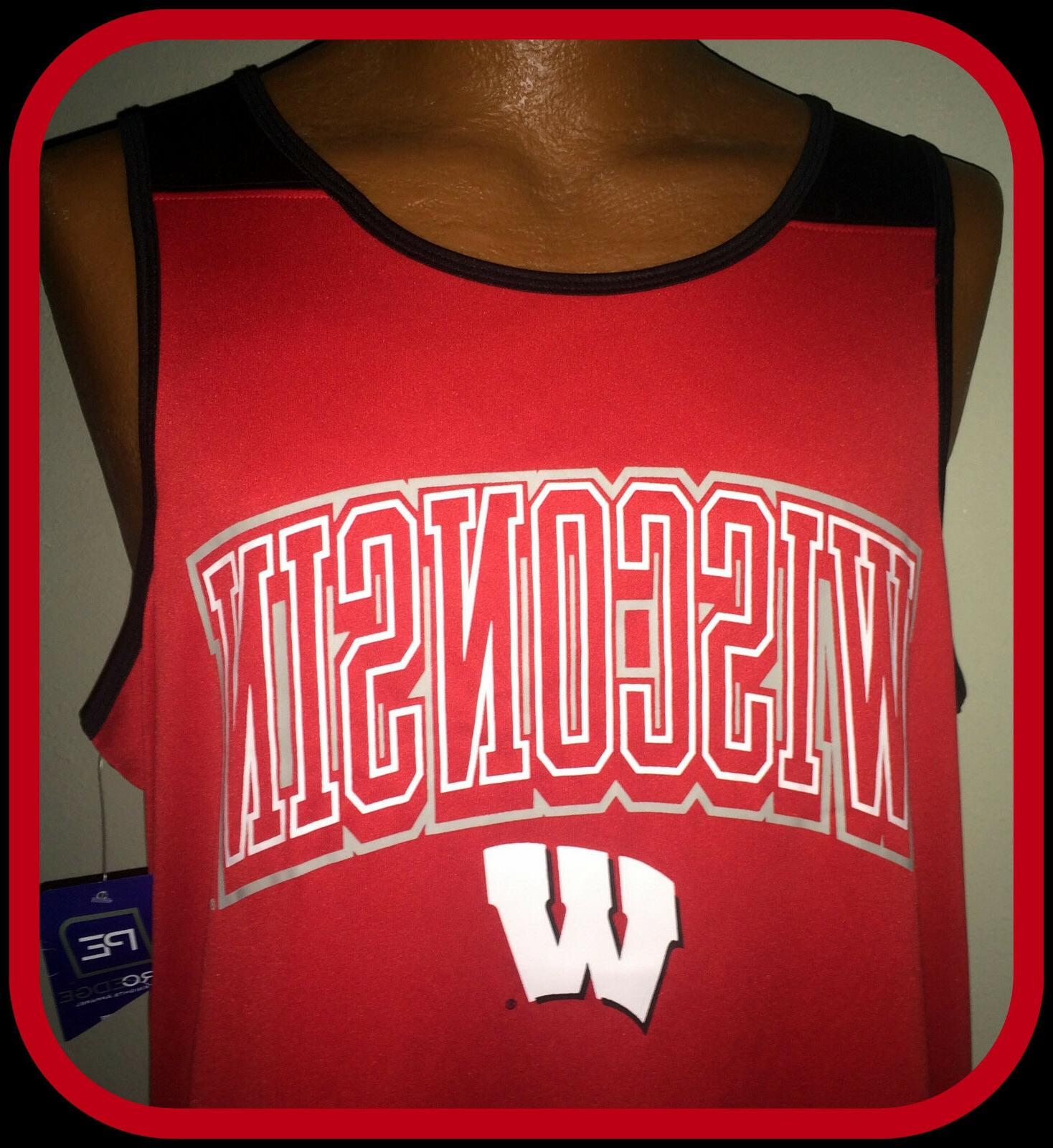 wisconsin badgers knights apparel pro edge basketball