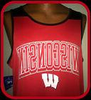 WISCONSIN BADGERS KNIGHTS APPAREL PRO EDGE BASKETBALL JERSEY