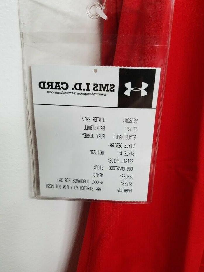 Wisconsin Under Armour Basketball Jersey Size Large