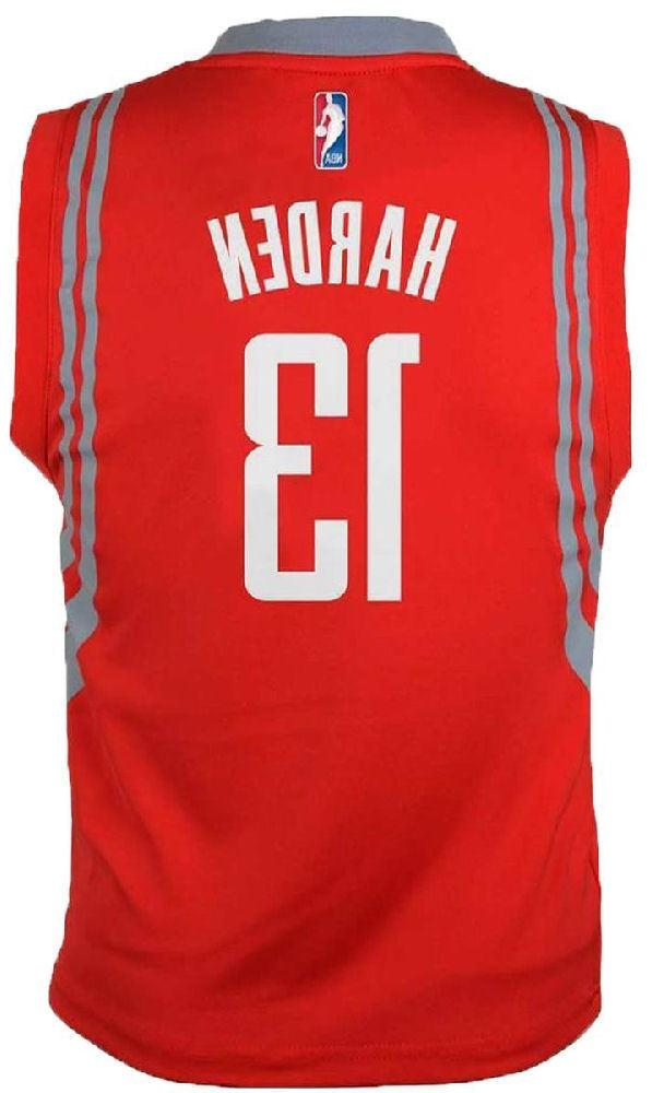 Youth James Harden Rockets Red Basketball Jersey