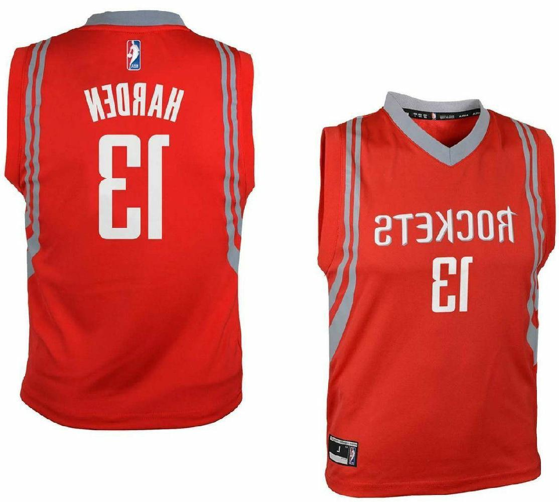 youth james harden houston rockets red replica