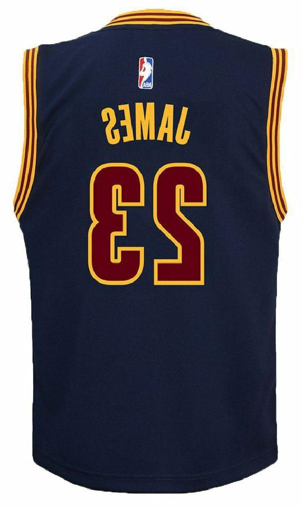 Youth Cavaliers Outerstuff Basketball Jersey