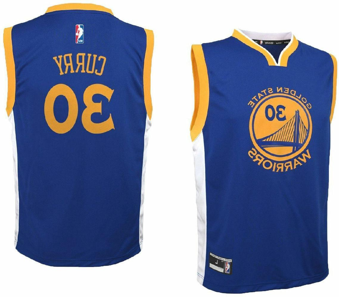 youth stephen curry golden state warriors replica