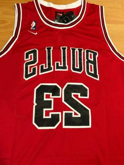 Michael Jordan #23 Chicago Bulls Basketball Jersey NWT Men's
