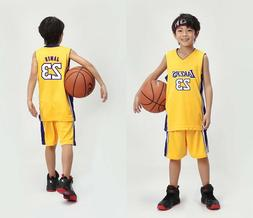 LeBron James #23 Kids Children's / Youth basketball jersey L