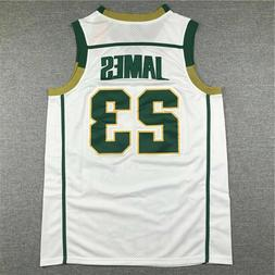 LeBron James #23 St Mary Irish High School Basketball Jersey