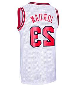 RAAVIN Legend Mens #23 Basketball Jersey Retro Athletics Jer