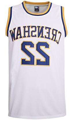 Quincy McCall 22 White Basketball Jersey