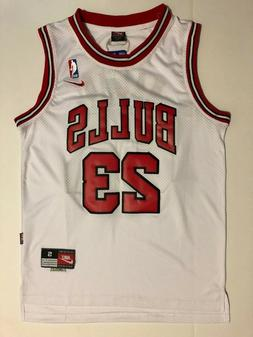 Men's Chicago Bulls #23Michael Jordan Throwback Swingman Bas
