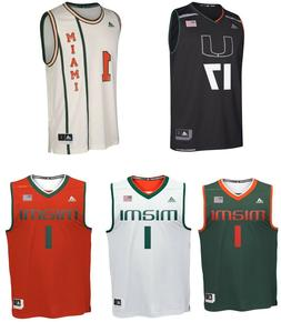 Adidas Men's NCAA Miami Hurricanes Basketball Jersey Number