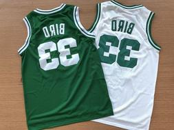 Men's Throwback Swingman Larry Bird #33 Boston Celtics Baske