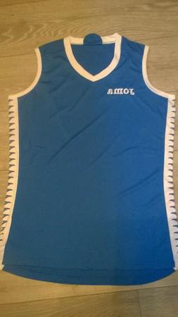 Mens Joma blue white basketball top jersey, NEW Size XL