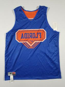 NIKE Mens Florida #55 Reversible Basketball Jersey | Blue/Or