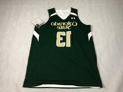 UNDER ARMOUR MENS L BASKETBALL REVERSIBLE JERSEY COLORADO ST