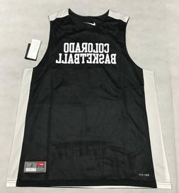 NIKE MENS L COLORADO BUFFALOES BASKETBALL REVERSIBLE MESH JE
