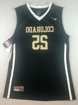 NIKE MENS L COLORADO BUFFALOES ELITE BASKETBALL JERSEY #25 B