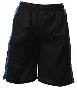 Mens Mesh Shorts Basketball Fitness Jersey Soft Gym Sports S