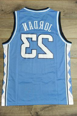 Mens Michael Jordan #23 North Carolina Basketball Jersey Ret