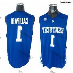 Mens New Kentucky Wildcats Basketball Jersey Throwback #1 Jo