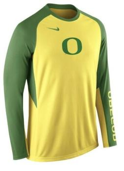 Nike Men's Oregon Ducks Basketball Shooting Shirt Jersey D