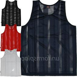 Mens Sleeveless T shirts Mesh Jersey Basketball Big & Tall T