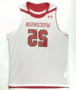 Under Armour Men's Wisconsin Badgers Reversible Basketball