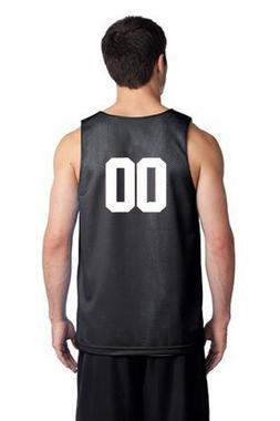 New Mens Mesh Reversible Jersey Basketball Team Tank Top Shi