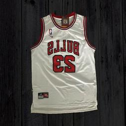 Michael Jordan #23 Chicago Bulls Basketball Jersey White, 1s