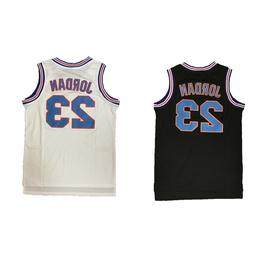Michael Jordan #23 Space Jam Tune Squad Basketball Jersey S