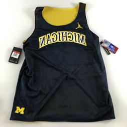 Michigan Wolverines Jordan Jumpman Reversible Mesh Basketbal