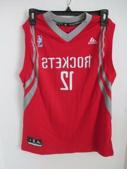 NBA Basketball Houston Rockets Youth Boys 8-20 Medium Road J