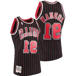 NBA Mitchell & Ness Chicago Bulls #91 Basketball Jersey New