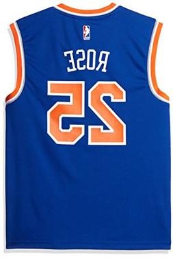 NBA Men's New York Knicks Derrick Rose Replica Player Stretc