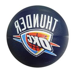 Spalding NBA Oklahoma City Thunder Mini Rubber Basketball