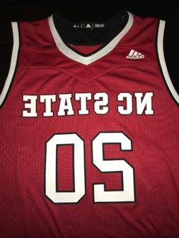 NC State Wolfpack Men's Adidas College Basketball Jersey S