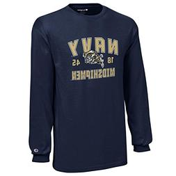 Champion NCAA Midshipmen Youth Boys Long Sleeve Jersey T-Shi