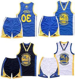 NEW KIDS JERSEY BOYS STEPHEN CURRY #30 BASKETBALL YOUTH SPOR